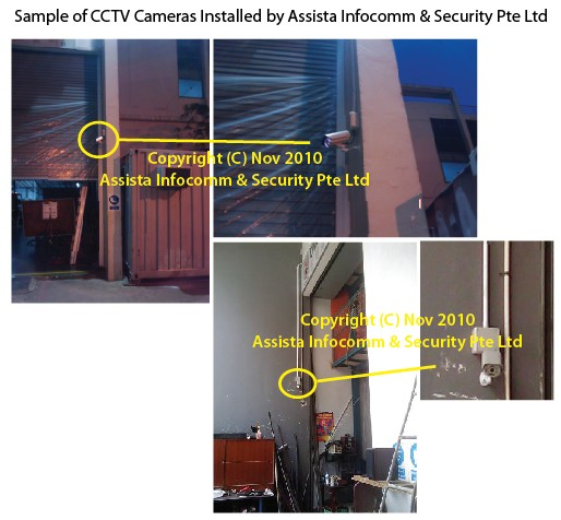 CCTV Cameras Installed by Assista