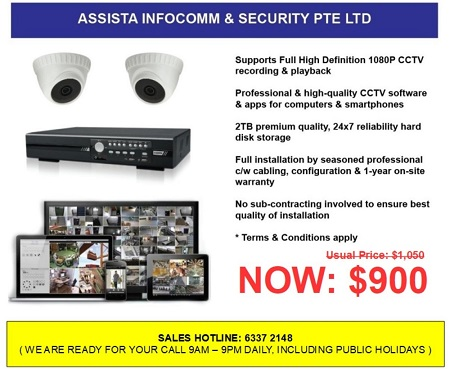 CCTV Singapore Special Price Package Offers1