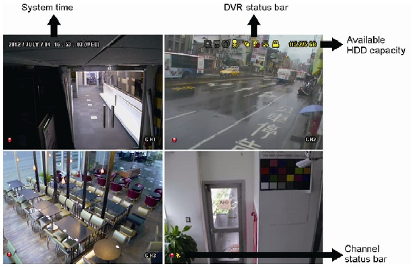 CCTV Singapore Intuitive & user friendly interface
