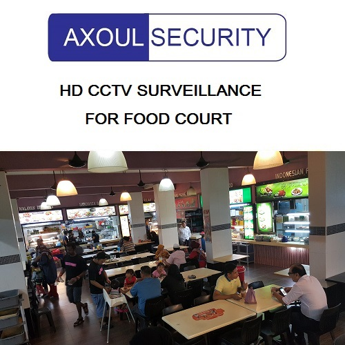 CCTV for Singapore Food Courts