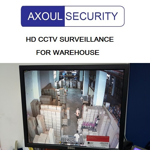 CCTV solution for Singapore warehouse