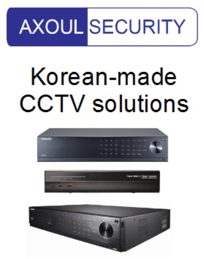 HD CCTV Made-in-Korea for Axoul Security in Singapore