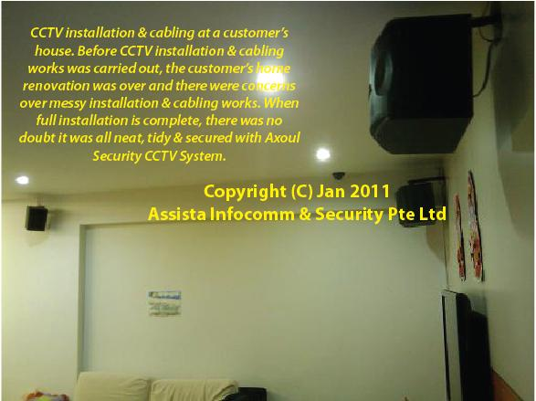 CCTV Singapore Home Installation 1