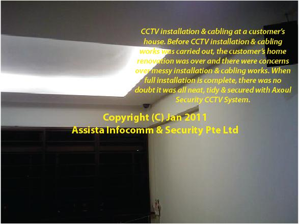 CCTV Singapore Home Installation 2