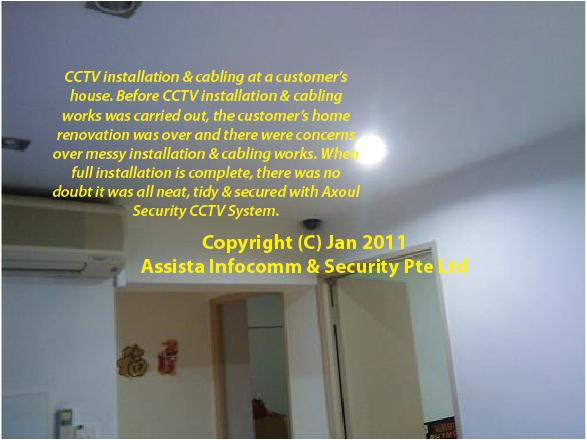 CCTV Singapore Home Installation 3