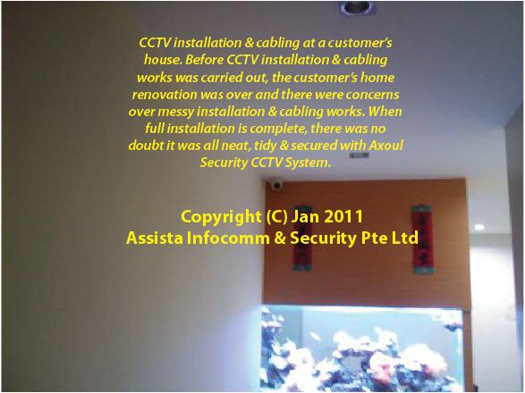 CCTV Singapore Home Installation 5