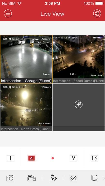 Hikvision HD CCTV App