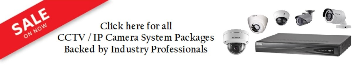 CCTV Camera System Packages banner