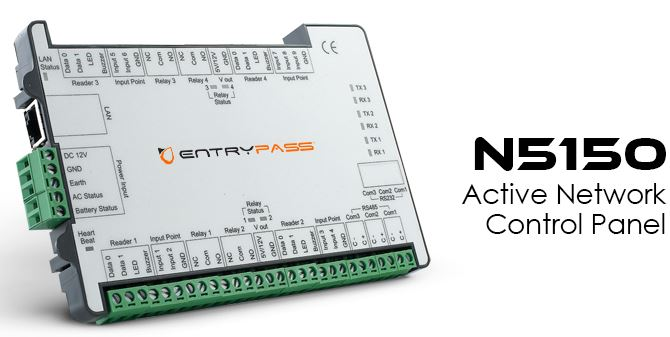 EntryPass n5150 door access control system singapore product