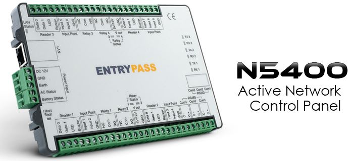 EntryPass n5400 door access control system singapore product