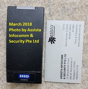 HID IClass SE Proximity Smart Card Door Access System Singapore