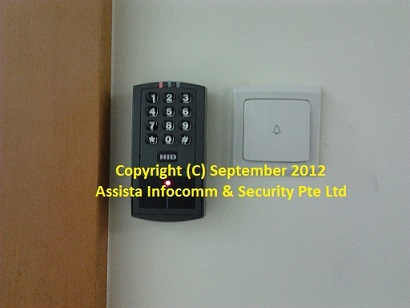 HID Ezeprox 4045 Proximity Card Door Access System in Singapore