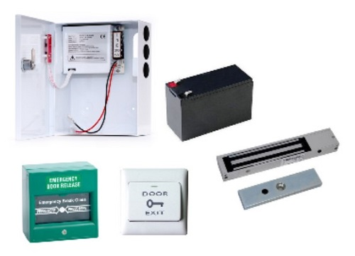 Door access control system accessories