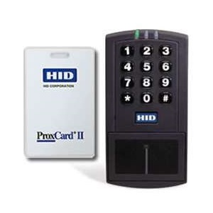 HID EntryProx 4045 door access control keypad card reader