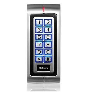 K2 metal door access keypad card reader