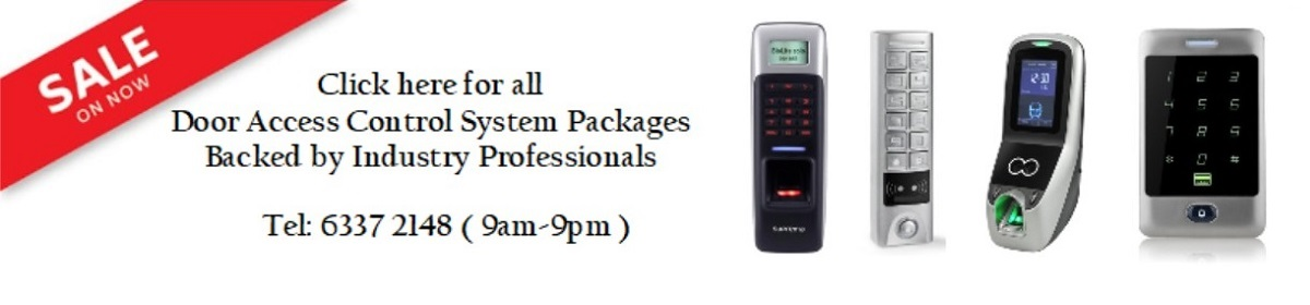 Door Access Control System Promotion Packages