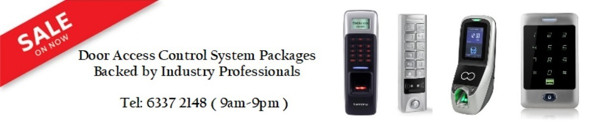 Door Access Control System Singapore packages banner2
