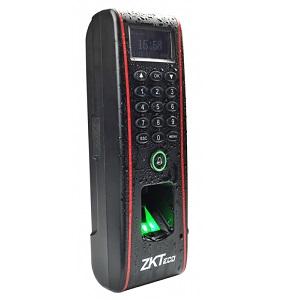 TF1700 outdoor fingerprint card reader PIN keypad door access control system