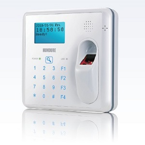 H860PMF fingerprint mifare card reader keypad door access control