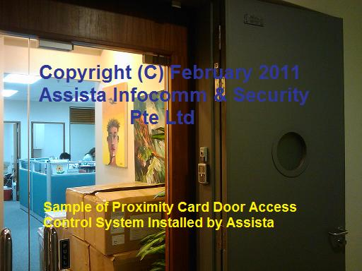 Door Access System with Proximity Cards in Singapore