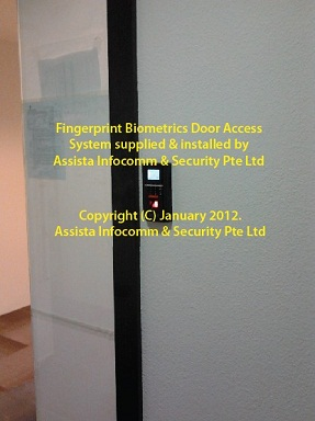 Fingeprint Biometrics Door Access System