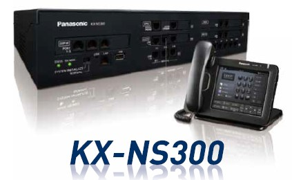 Panasonic KX-NS300 Smart Hybrid IP-PBX in Singapore